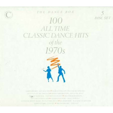 100 All Time Classic Dance Hits Of 1970S Box 5X Cd