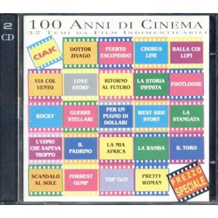 100 Anni Di Cinema - Jarre/John Barry/Caravelli/Morricone/Pagani/Fossati 2x Cd