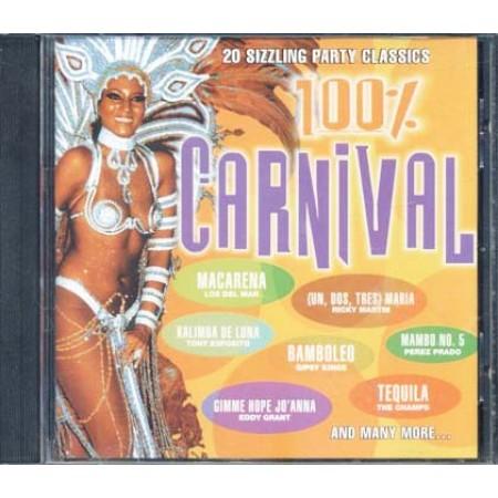 100%25 Carnival - Kaoma/Mory Kante/Esposito/Los Del Mar Cd
