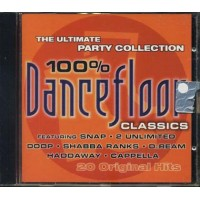 100%25 Dancefloor - Snap/2 Unlimited/Cappella/Haddaway Cd