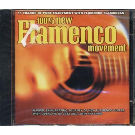 100%25 New Flamenco Movement Cd