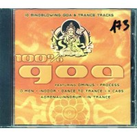 100%25 Goa - Dance To Trance/Indoor Cd