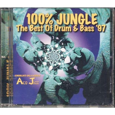 100%25 Jungle - The Best Of Drum Bass 1997 Acid Jazz Cd