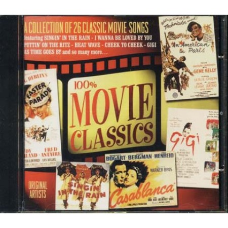 100%25 Movie Classics - Monroe/Astaire/Garland/Hayworth/Gene Kelly Cd