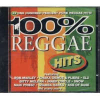 100%25 Reggae - Shabba Ranks/Inner Circle/Bob Marley/Peter Tosh Cd