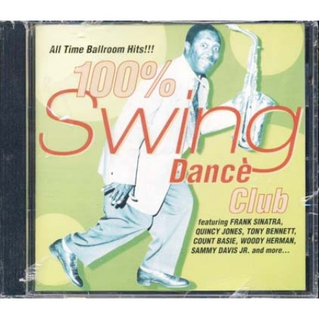 100%25 Swing Dance Club - Frank Sinatra/Quincy Jones/Count Basie Cd