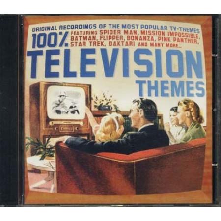 100%25 Television Themes - Bonanza/Star Trek/Spider Man/Batman Cd