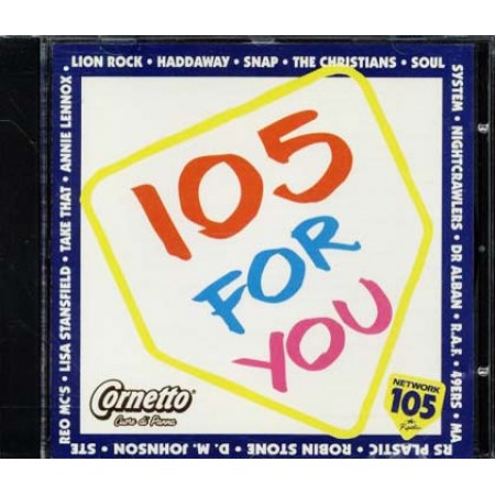 105 For You - Snap/Haddaway/Stereo Mc'S Cd