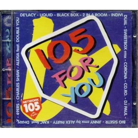 105 For You 4 - De Lacy/2 In A Room/Corona/Double You/Co.Ro Cd