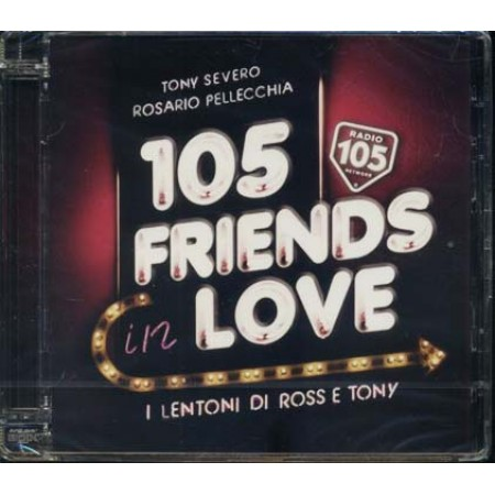 105 Friends In Love - Alicia Keys/Tiziano Ferro/Baglioni/Elton John Cd