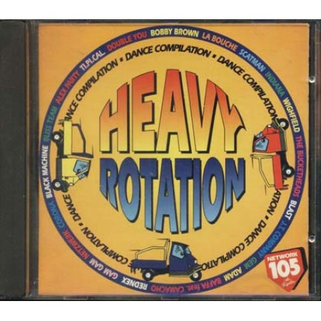 105 Heavy Rotation - Monti & Pilato/Rednex/Indiana/Scatman John Cd