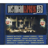 105 Night Express - Litfiba/Antonacci/Jovanotti/Negrita/L Dalla Cd