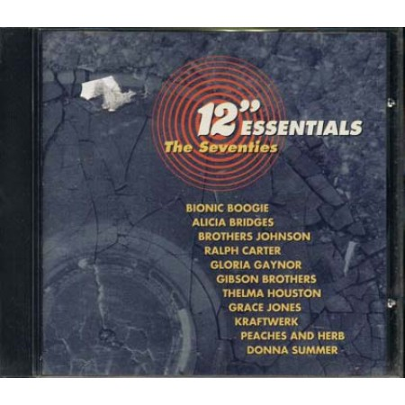 12'' Essentials The Seventies - Kraftwerk/Donna Summer/Thelma Houston cd