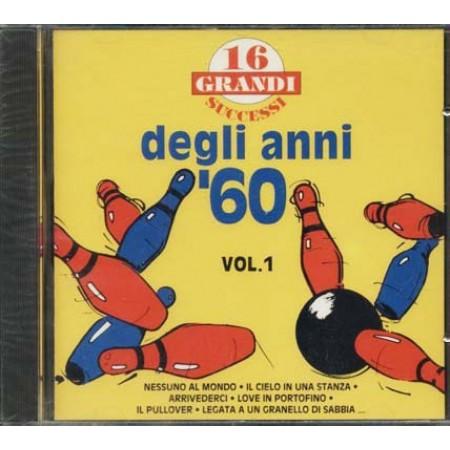 16 Grandi Successi Anni '60 - Bindi/Buscaglione/Tenco/Meccia Cd