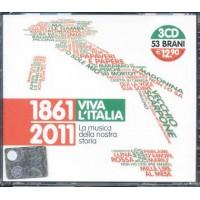 1861 2011 Viva L'Italia - Quartetto Cetra/Pooh/Mina/Celentano 3X Cd