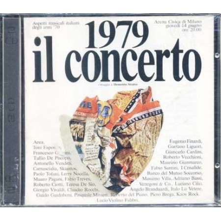 1979 Il Concerto Omaggio A Demetrio Stratos/Area Prima Stampa 2x Cd