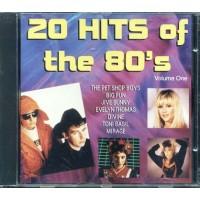 20 Hits Of The 80'S - Pet Shop Boys/Samantha Fox/Sabrina Salerno Cd