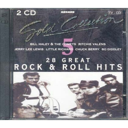 28 Great Rock & Roll - Bill Haley/Valens/Jerry Lee Lewis/Chuck Berry 2x Cdcel