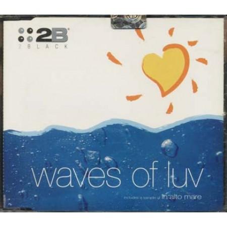 2Black - Waves Of Luv (Loredana Berte') Cd