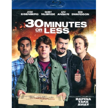 30 Minutes Or Less - Jesse Eisenberg Blu Ray
