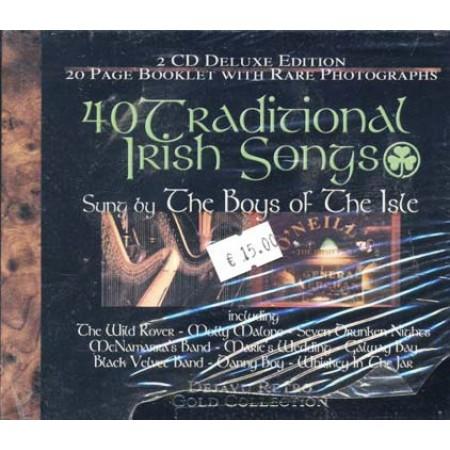 40 Traditional Irish Song Box 2x Cd