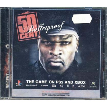 50 Cent - Bulletproof Ost Russian Import Cd