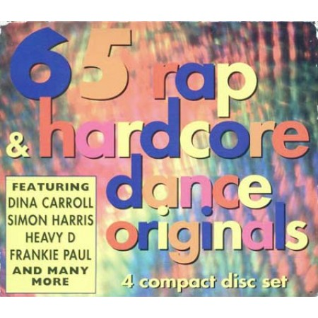 65 Rap & Hardcore Dance - Heavy D/Frankie Paul 4X Cd