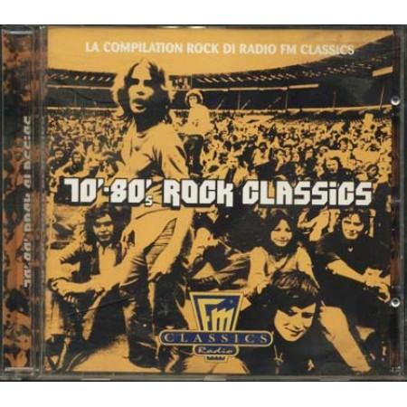 70'-80'S Rock Classics - Frampton/Ram Jam/Black Sabbath/Genesis Cd