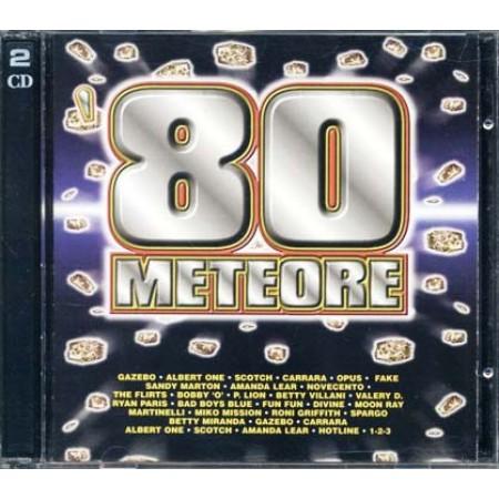 80 Meteore - Gazebo/Carrara/Amanda Lear/Betty Villani/Martinelli 2x Cd