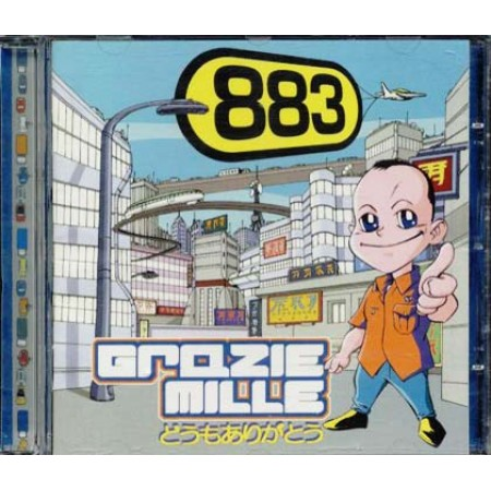883/Max Pezzali - Grazie Mille Cd