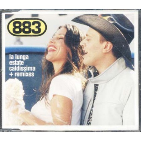 883/Max Pezzali - La Lunga Estate Caldissima + Remixes Cd