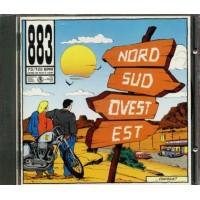 883/Max Pezzali - Nord Su Ovest Est Cd Prima Stampa Timbro Siae