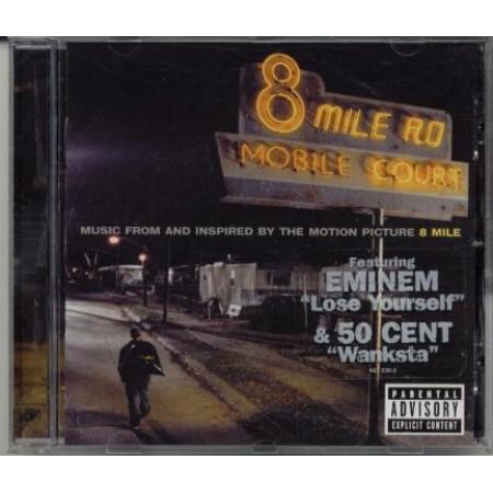8 Mile Ost - Eminem/D2/50 Cent/Jay Z/Nas/Xzibit/Rakim Cd
