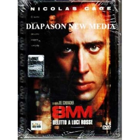 8Mm Delitto A Luci Rosse - Brian De Palma/Nicolas Cage Super Jewel Box Dvd