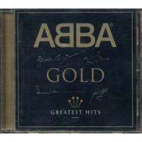 Abba - Gold With Rare Artwork Case Gold Signature Cd