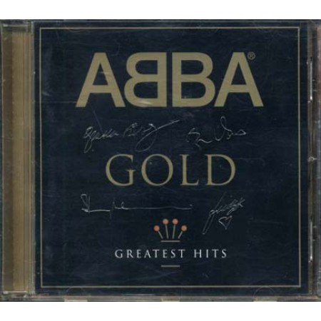 Abba - Gold With Rare Artwork Case Gold Signature Cd