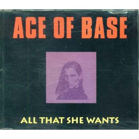Ace Of Base - All That She Wants Cd