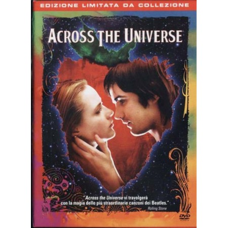 Across The Universe Edizione Limitata Box Doppio Dvd + Libro Beatles + 2 Books