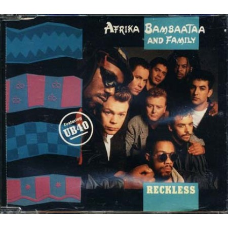Afrika Bambaataa & Ub40 - Reckless Cd