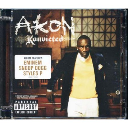 Akon - Konvicted (Eminem/Snoop Dogg) Cd