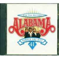 Alabama - For The Record Number One Hits 2x Cd