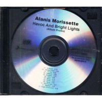 Alanis Morissette - Havoc And Bright Lights Full Promo Album Cd
