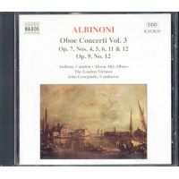 Albinoni - Oboe Concerti Vol. 3 Cd
