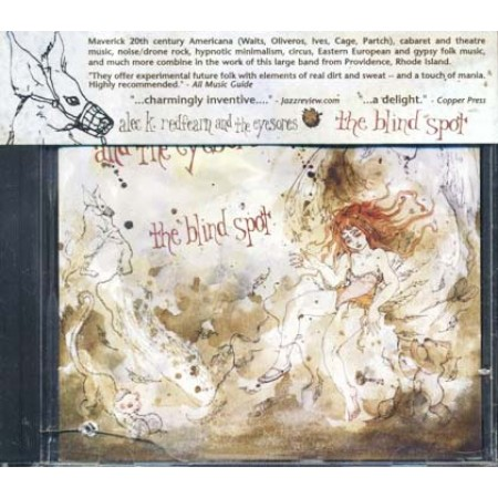 Alec K Redfearn And The Eyesores - The Blind Spot (Cuneiform) Cd