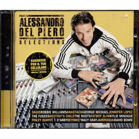Alessandro Del Piero - Selections (Oasis/Roots) Cd