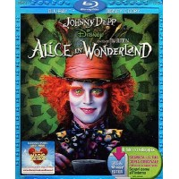 Alice In Wonderland - Johnny Depp/Tim Burton Blu Ray