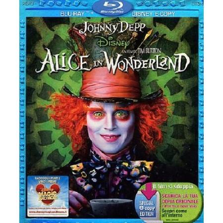 Alice In Wonderland - Johnny Depp/Tim Burton Blu Ray