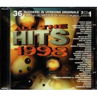 All The Hits 1998 - Vasco Rossi/883/Lenny Kravitz/Bran Van 3000/Soerba 2x Cd
