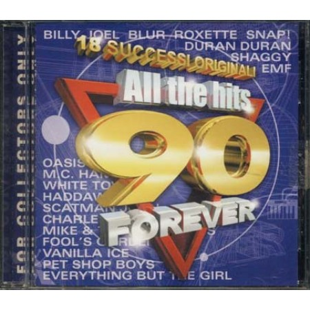 All The Hits '90 Forever - Roxette/Snap/Duran/Blur/Oasis/Billy Joel Cd