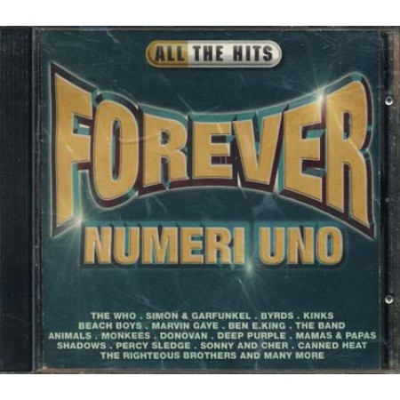All The Hits Forever - The Who/Kinks/Beach Boys/Animals/Monkees Cd